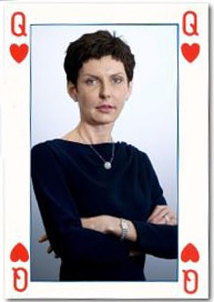 Bet365 is owned and run by Denise Coates (pictured) and her family rather than listed on the stock market