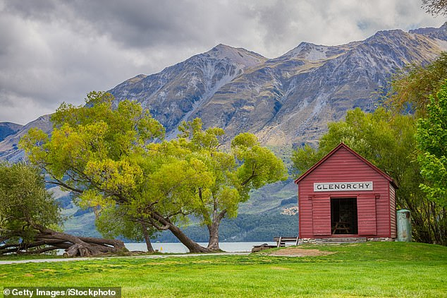 Glenorchy, a small settlement at the northern end of Lake Wakatipu, shows off New Zealand's impressive countryside