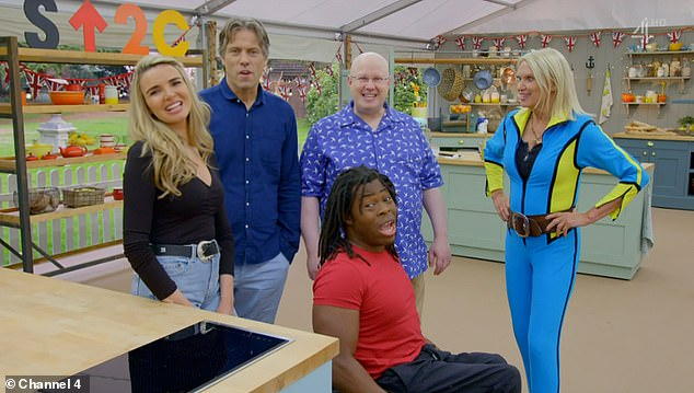 Participants: Anneka was up against tough competition from Nadine Coyle, Ade Adepitan and John Bishop in the final installment of the Stand Up To Cancer specials of the Channel 4 show