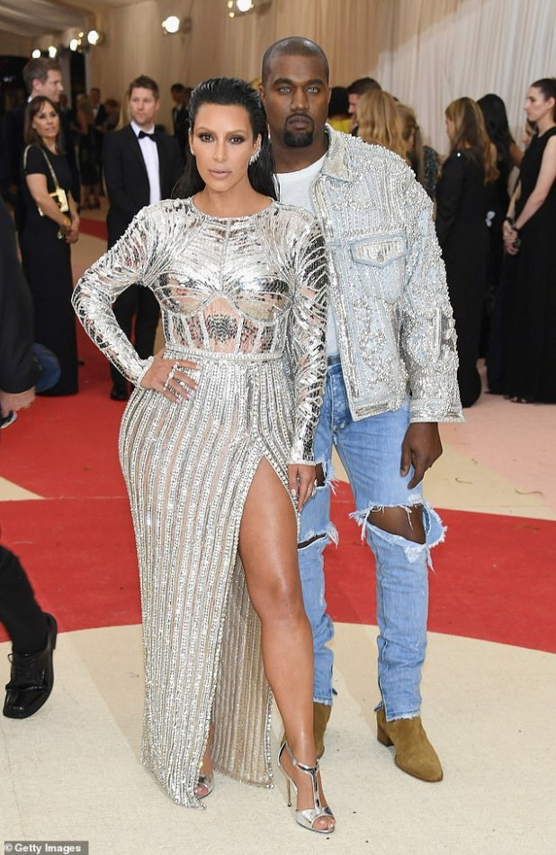 Kanye also has $ 17 billion in other assets, including a substantial interest in his wife Kim's Skims line of shapers.  The reality star filed for divorce in January after seven years of marriage (pictured May 2016)