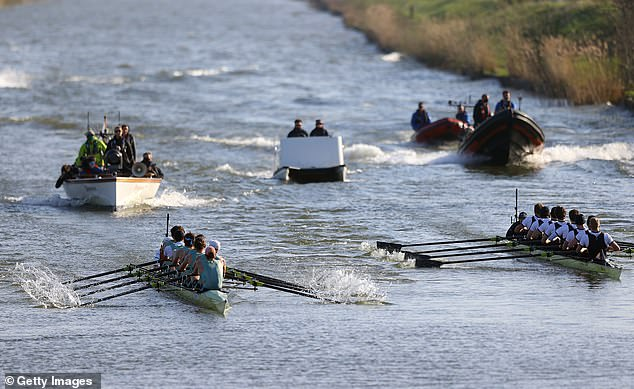 A senior Oxford academic has been accused of telling the alleged victim of a rape at the university that her claim could cause the historic boat race to be cancelled