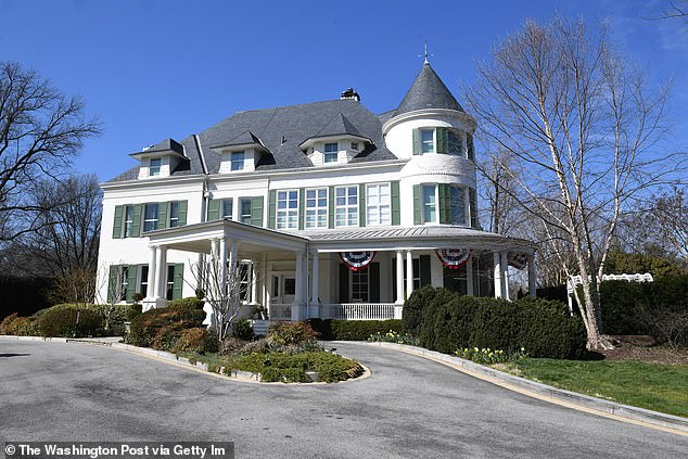 Kamala Harris and Doug Emhoff moved in to the official vice presidential residence on Tuesday