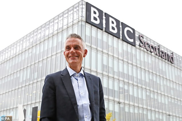 This approach emerged in a reply to a 55-year-old licence fee payer who wrote to director-general Tim Davie (pictured) bemoaning the lack of content for people of their age