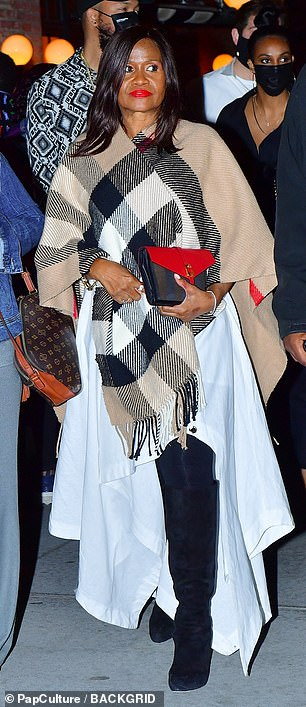 She was celebrating her mom Monica Brathwaite's 52nd birthday at a party in Manhattan