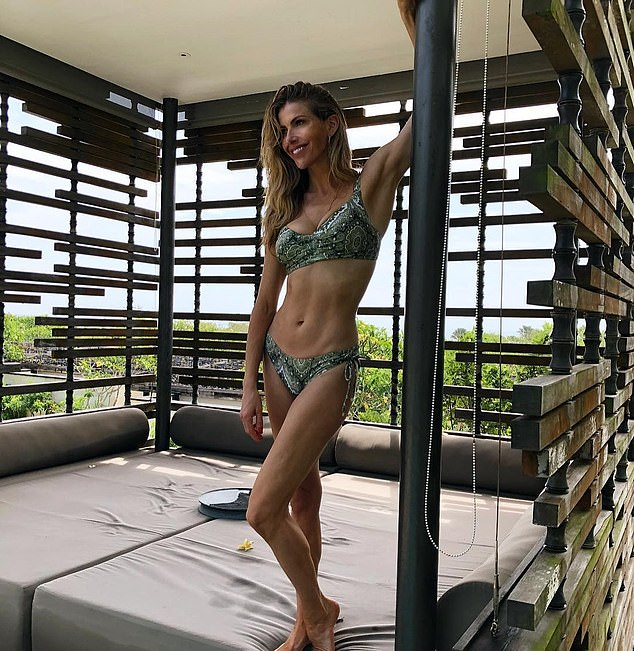 Proud: Laura has never been afraid to show off her incredible physique