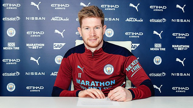 Kevin De Bruyne has committed the best years of his career to Man City with a four-year deal