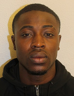 Edmilson Caimanque, 23, (pictured) was convicted of two counts of rape, and was sentenced to a total of 18 years imprisonment