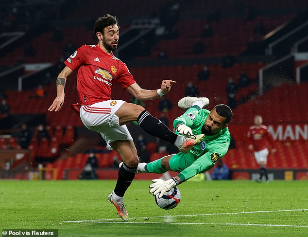 Fernandes did admit that United have lost too many games at Old Trafford this season