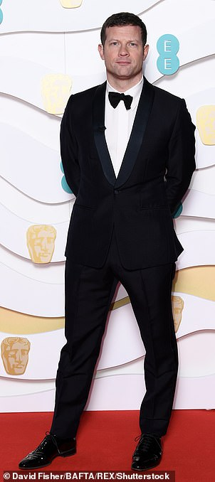 Plans: Dermot O'Leary is set to host the2021 British Academy Film Awards