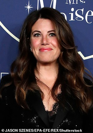 Monica Lewinsky, pictured in 2019