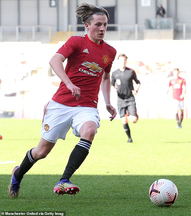 Savage has impressed for United's Under 18s this season, providing five assists so far
