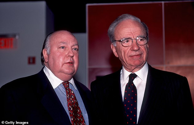 Boehner reveals he clashed with Rupert Murdoch at meetings in the 1990s, when Fox News was in its early days, and believes Roger Ailes 'got swept into the conspiracies and the paranoia' of birtherism conspiracy theories. Ailes and Murdoch are pictured in 1996