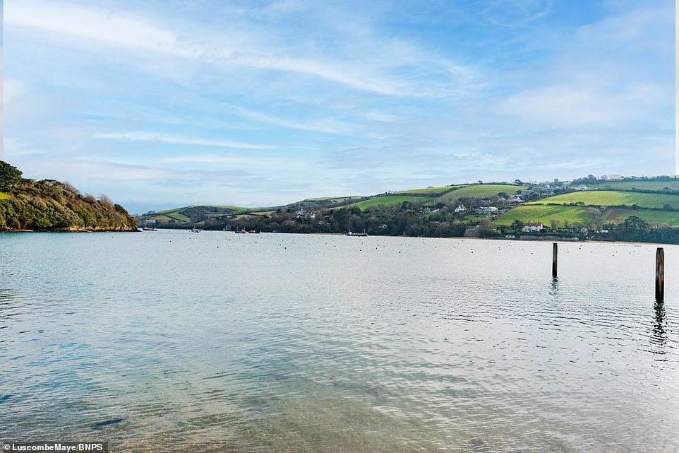 All eight of the fisherman's cottages were originally built with functionality in mind along the sea wall, but have now turned into holiday homes thanks to their stunning location
