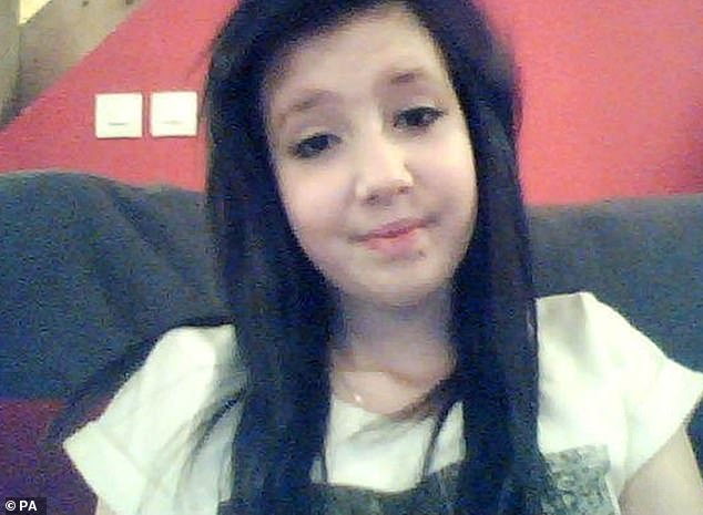 Jayden Parkinson, 17, was strangled to death by her abusive partner Ben Blakeley, now 30, who buried her in his uncle's grave after she told him she was pregnant in December 2013