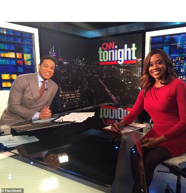 Charles provided commentary on shows including CNN, HLN, Bloomberg TV, MSNBC and TV One. While working for CNN, she even provided legal commentary for live trials daily on InSession (formerly CourtTV) on truTV. Pictured with Don Lemon