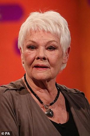 Actress Dame Judi Dench