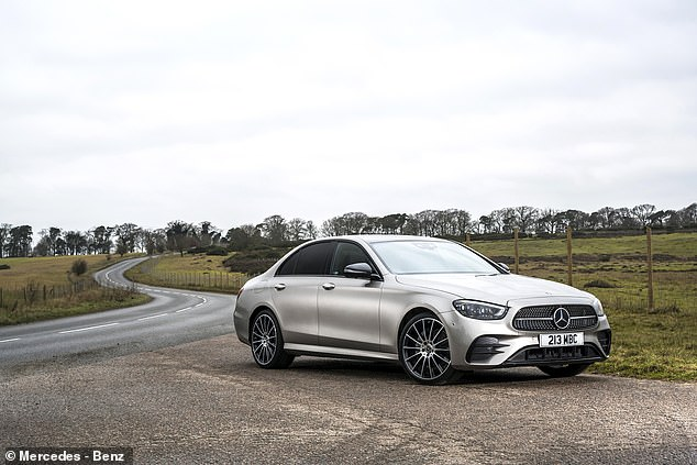 The most expensive model in our list is this, the accomplished Mercedes E-Class. An E220d diesel in the much-sought AMG Line Premium spec and with a 9G-Tronic auto box usually costs £50,015. A 15% discount will cut that by £7,299