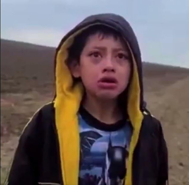 The 10-year-old boy from Nicaragua was found sobbing uncontrollably in the desert on April 1