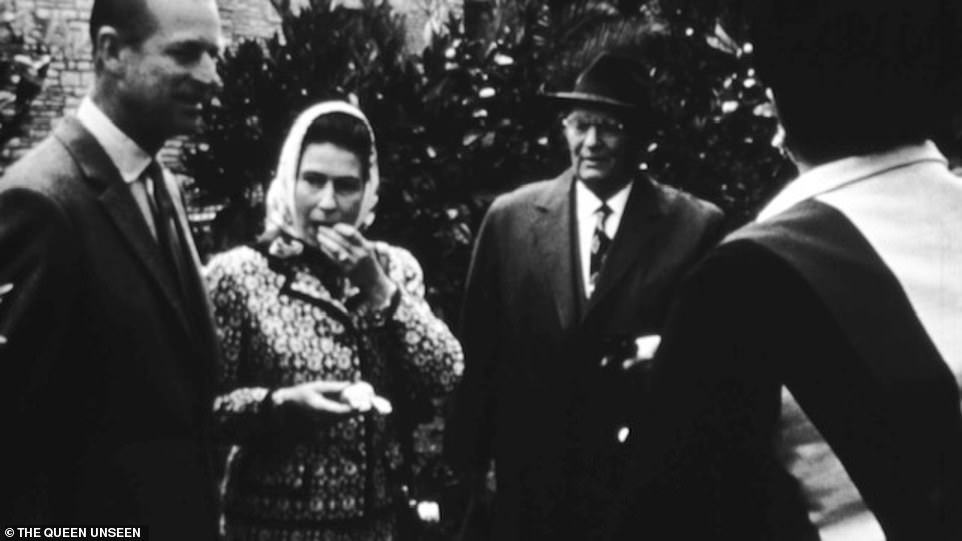 Rarely seen footage a young Queen eating an orange with President Tito during her visit to Belgrade in 1972. The Queen is rarely seen on camera eating - she very much disapproves of that - but happily tucked into the piece of fruit