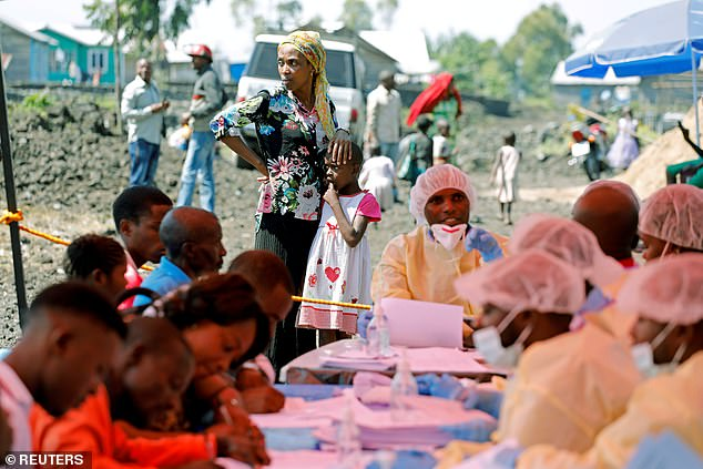 A woman and child in Goma, Democratic Republic of Congo, August 5, 2019. File photo