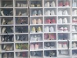 Australian mum's organised shoe cupboard divides the internet