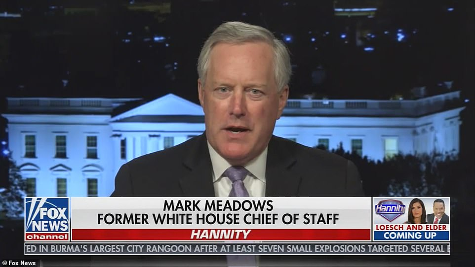 'Kamala Harris has spent more time with an interior decorator redecorating the Naval Observatory that has 33 rooms, than she has at the border,' Meadows stated