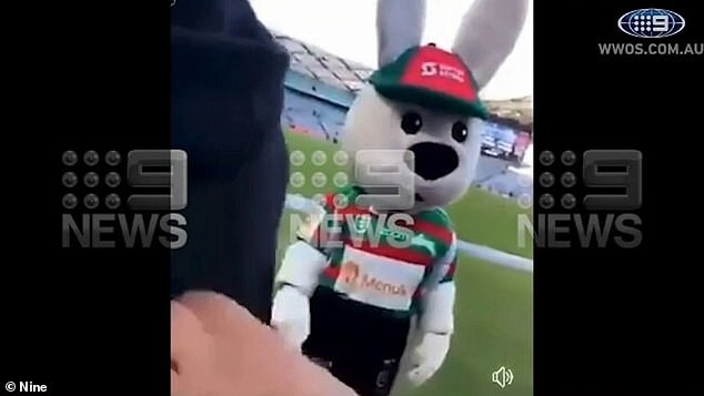 Reggie the Rabbit said it would have been a different story if he wasn't wearing the suit