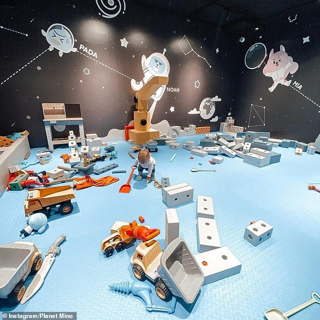 Parents who have been to Planet Mino are almost unanimously in love with the incredible futuristic playground (pictured)