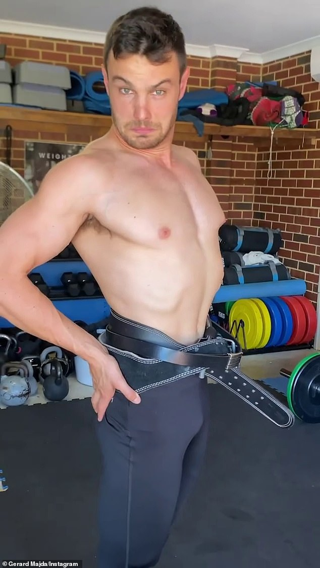 'That will NOT make you burn more calories': A personal trainer by trade, Gerard made a video pointing out the misinformation surrounding 'celebrity-approved' waist trainers