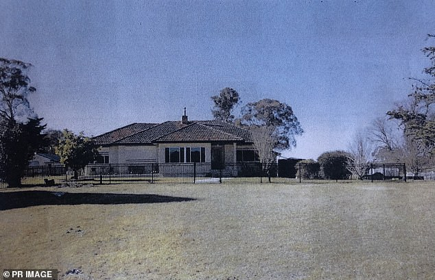 Mr Dunbar did not leave a suicide note, but the jury is expected to hear psychiatric evidence that that was 'really common'. Pictured: Dunbar's property