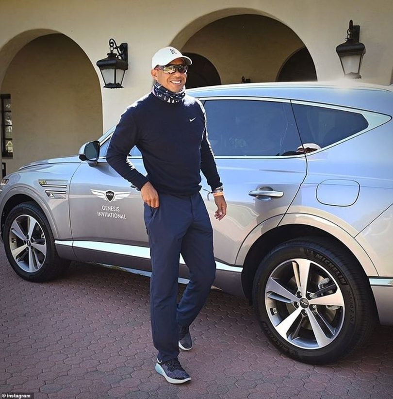 Tiger Woods was traveling at almost double the speed limit of 45mph when he crashed an SUV in Southern California less than two months ago, the Los Angeles County sheriff revealed on Wednesday