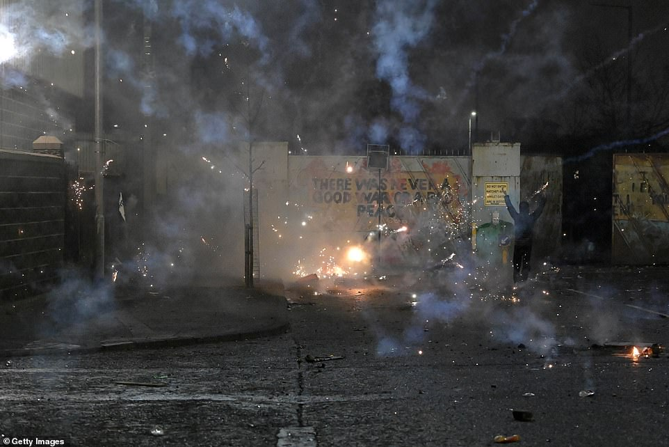 Riots and attacks on police have taken place repeatedly throughout the last week and have now resumed after a relative lull on Tuesday