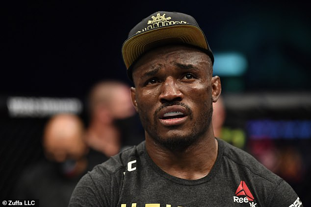 Usman insists that he is a big draw and that it is 'green panty night' when fighters face him