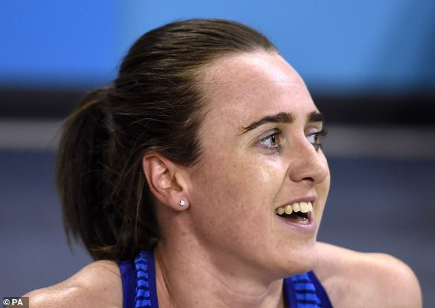 Muir is hoping she can land a gold, silver or bronze at the Olympics later this year