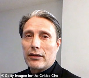 In the running: Mads is nominated for his role in Another Round