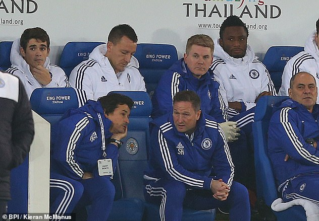 The Chelsea skipper was again taken off at half-time as Chelsea lost the match 2-1