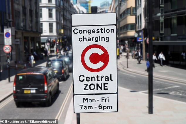 The congestion charge in central London has resulted in higher levels of pollution due to a 20 per cent increase in bus and taxi traffic in the city, study shows