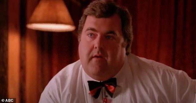 RIP:Twin Peaks actor Walter Olkewicz has died aged 72 (above in the show as Jacques Renault)