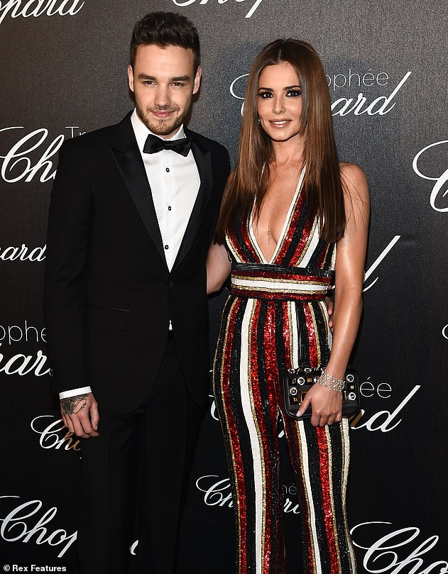 Pals: Liam and Cheryl separated in July 2018, just 16 months after welcoming son Bear, but the couple have remained on good terms