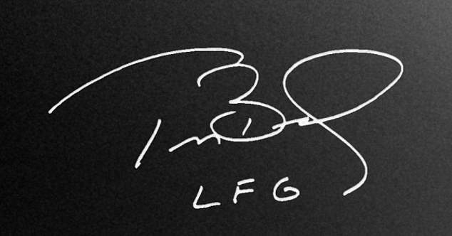 Autograph's NFTs have not been revealed, nor has the platform's celebrity partners. Currently the website features Tom Brady's signature with the initials LFG: Let's F***ing Go