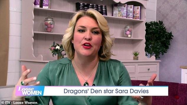 Dragon's Den star Sara Davies says it's never been easier to start a business, but warned 'not to romanticise' the life of an entrepreneur