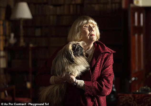 Role: The actress Miranda, 74, will take on the role of Ms. Pumphrey for the second series of the Channel 5 show (Diana Rigg pictured as Ms. Pumphrey)