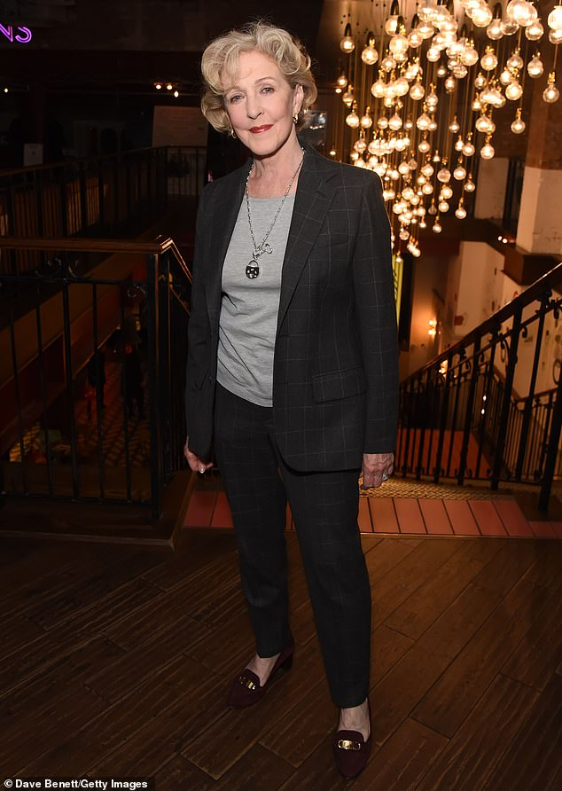 Replaced: Patricia Hodge, pictured in 2019, replaced the late Diana Rigg on All Creatures Big and Small