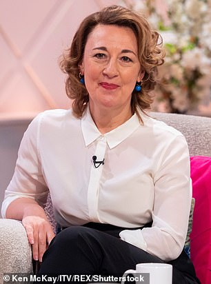 New Arrivals: The post reports that there will also be two new additions to the second season - Call The Midwife star Dorothy Atkinson, who will play Diana Brompton (pictured in 2019)