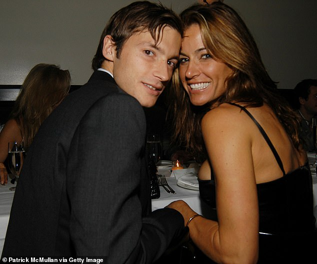 Flashback: Her latest sighting comes about a week after she was spotted out with her on-again boyfriend Nick Stefanov in New York; they are pictured together in 2006