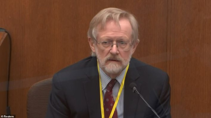 Dr Martin Tobin was the first to testify for the prosecution on Thursday on what has become the most contested issue of Chauvin's trial so far: Floyd's cause of death