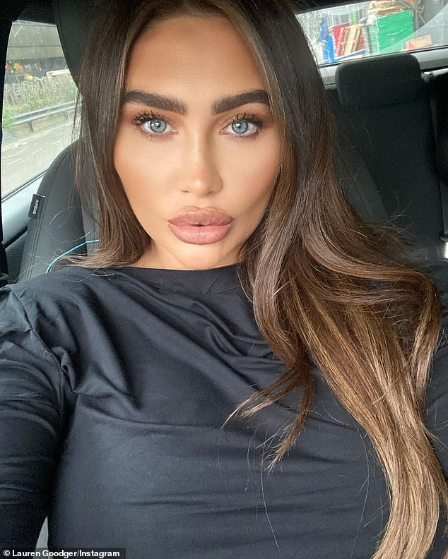 'I didn't feel myself': Lauren Goodger has revealed that she went to hospital last week after she 'couldn't feel her baby move'