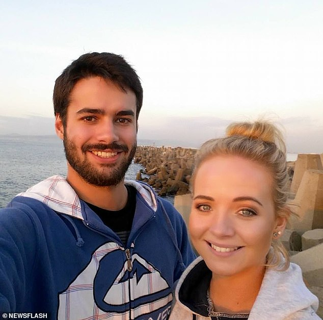 Mari Hoon, 28, and her fiance Jean Vosloo, 25, who were found dead in a shower in Kliphuis Guesthouse on Zuuranys farm in Kareedouw, on April 26, 2020