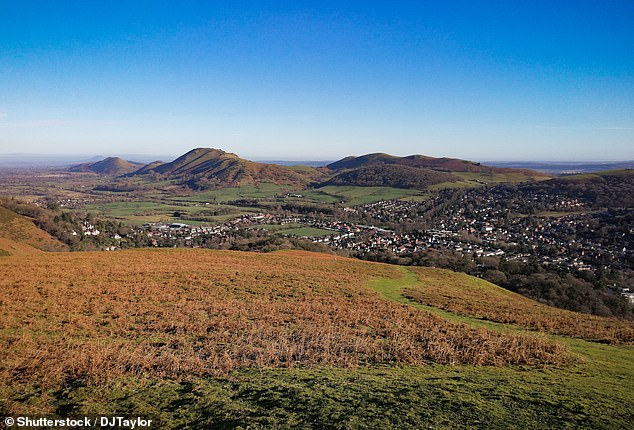 Christensenthen phoned police to confess how he had carried out a 'very savage, animalistic and brutal' murder near the summit of Brown Clee Hill, in Shropshire