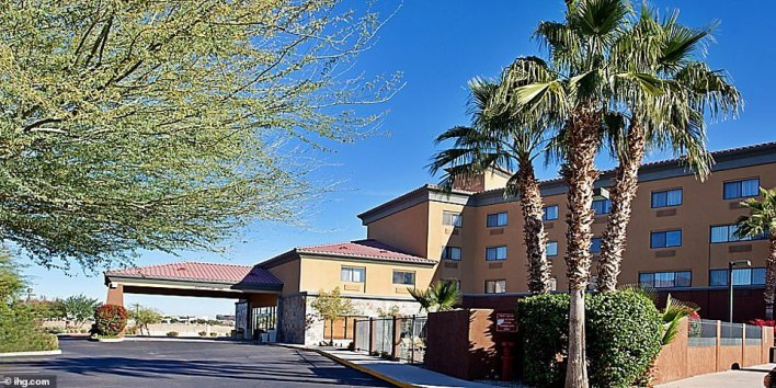PHOENIX: 'La Casa de la Luz,' or House of Light, for the Holiday Inn will accept more than 200 people starting Friday. It is located 15 miles southeast of Phoenix in Chandler and has a large pool